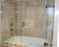 glass shower and glass tub enclosures mesa az - Bathtub Shower Doors